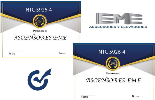 inspección normas NTC 5926-4 , NTC 2769-4, NTC 5926 1